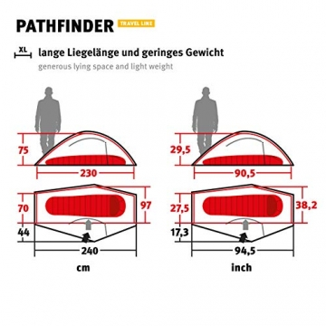 Wechsel Tents Kuppelzelt Pathfinder - Travel Line - 1-Personen Geodät Zelt - 3