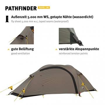 Wechsel Tents Kuppelzelt Pathfinder - Travel Line - 1-Personen Geodät Zelt - 5