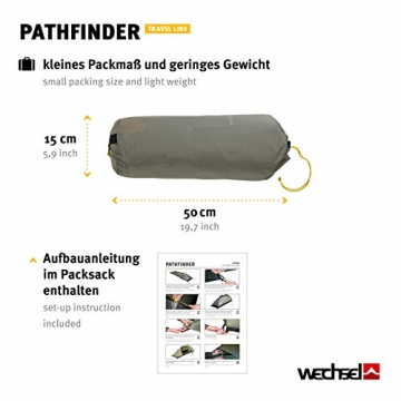 Wechsel Tents Kuppelzelt Pathfinder - Travel Line - 1-Personen Geodät Zelt - 6