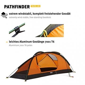 Wechsel Tents Kuppelzelt Pathfinder - Travel Line - 1-Personen Geodät Zelt - 8