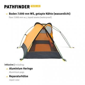Wechsel Tents Kuppelzelt Pathfinder - Travel Line - 1-Personen Geodät Zelt - 9