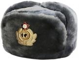 Cucuba® RUSSISCHE FELLMÜTZE SCHAPKA USCHANKA WINTERMÜTZE MILITÄRMÜTZE DER RUSSISCHE Marine MILITÄR GRÖSSEN VERFÜGBAR 56-57-58-59-60 (EU) - Geschenkidee (62 Size XXL (EU)) - 1
