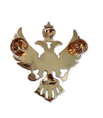 Eillwin Edle russische Anstecknadel Elite Goldfarbe Sammlerstück & Gedenkbrosche Pin - 2