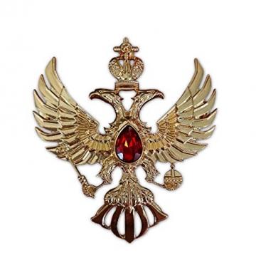 Eillwin Edle russische Anstecknadel Elite Goldfarbe Sammlerstück & Gedenkbrosche Pin - 1
