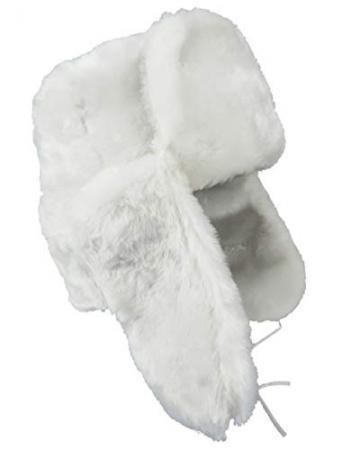 Generisch Unisex Uschanka (Weiß, 56) - 2