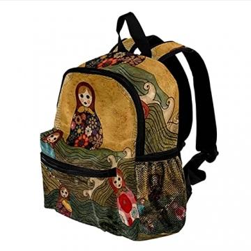 LXYDD Tragen Sie einen stilvollen Rucksack russische puppe matrjoschka - 3