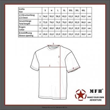 MFH Russisches Marine T-Shirt halbarm (Blau-Weiß) (M) - 2