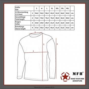 MFH Russisches Marine T-Shirt Langarm Winter (Blau-Weiß/XXL) - 2