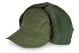 Schwedische Winter Uschanka, chepka, Winter Trapper Hat, grün, 57 - 1